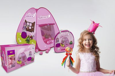Ilustração e Embalagem Brinquedos Pica-Pau